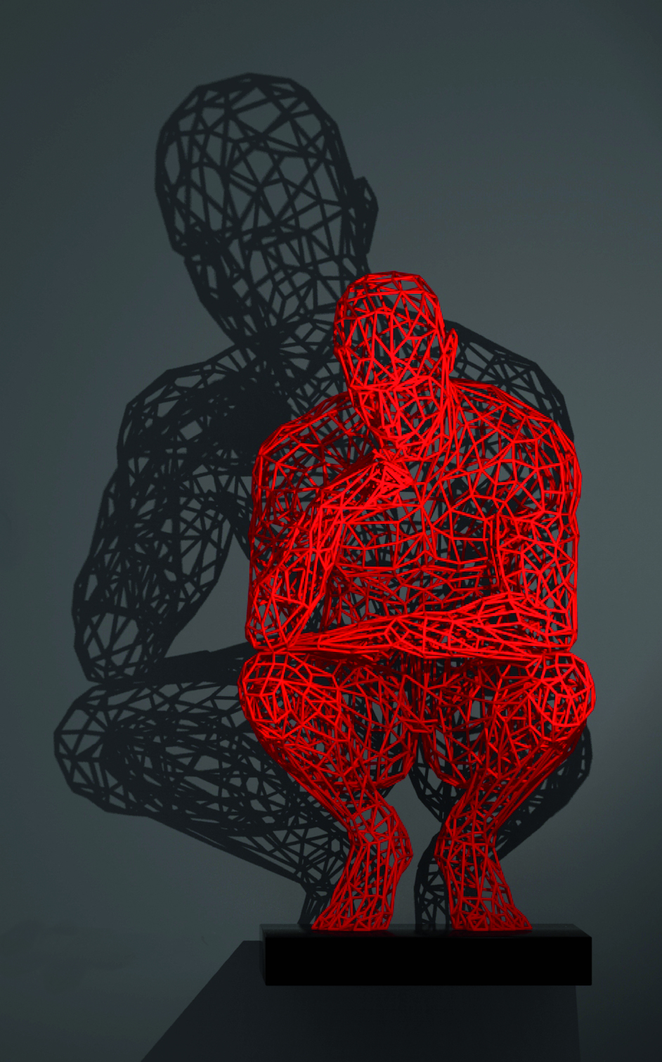 Thinker - Red Edition